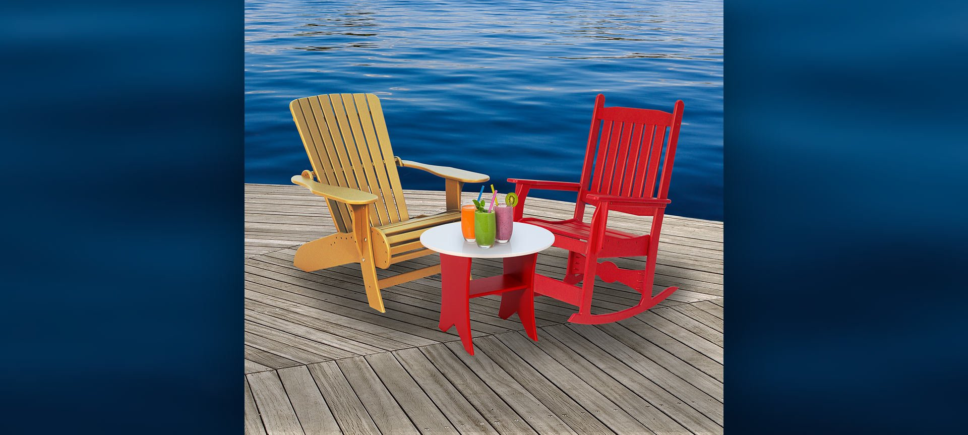 BeaverSprings Manufacturing Outdoor Plastic Furniture