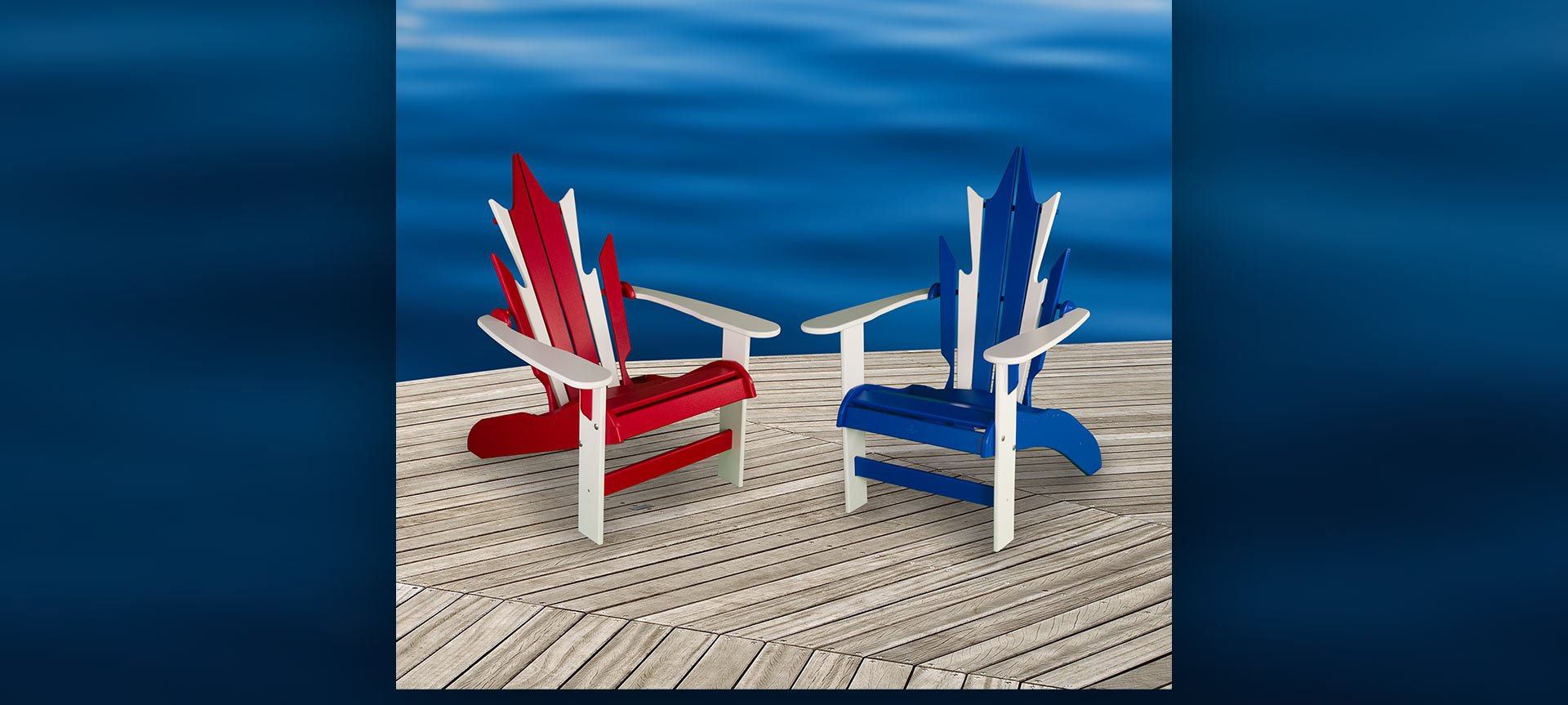 BeaverSprings Manufacturing - Maple Leaf Deck Chairs