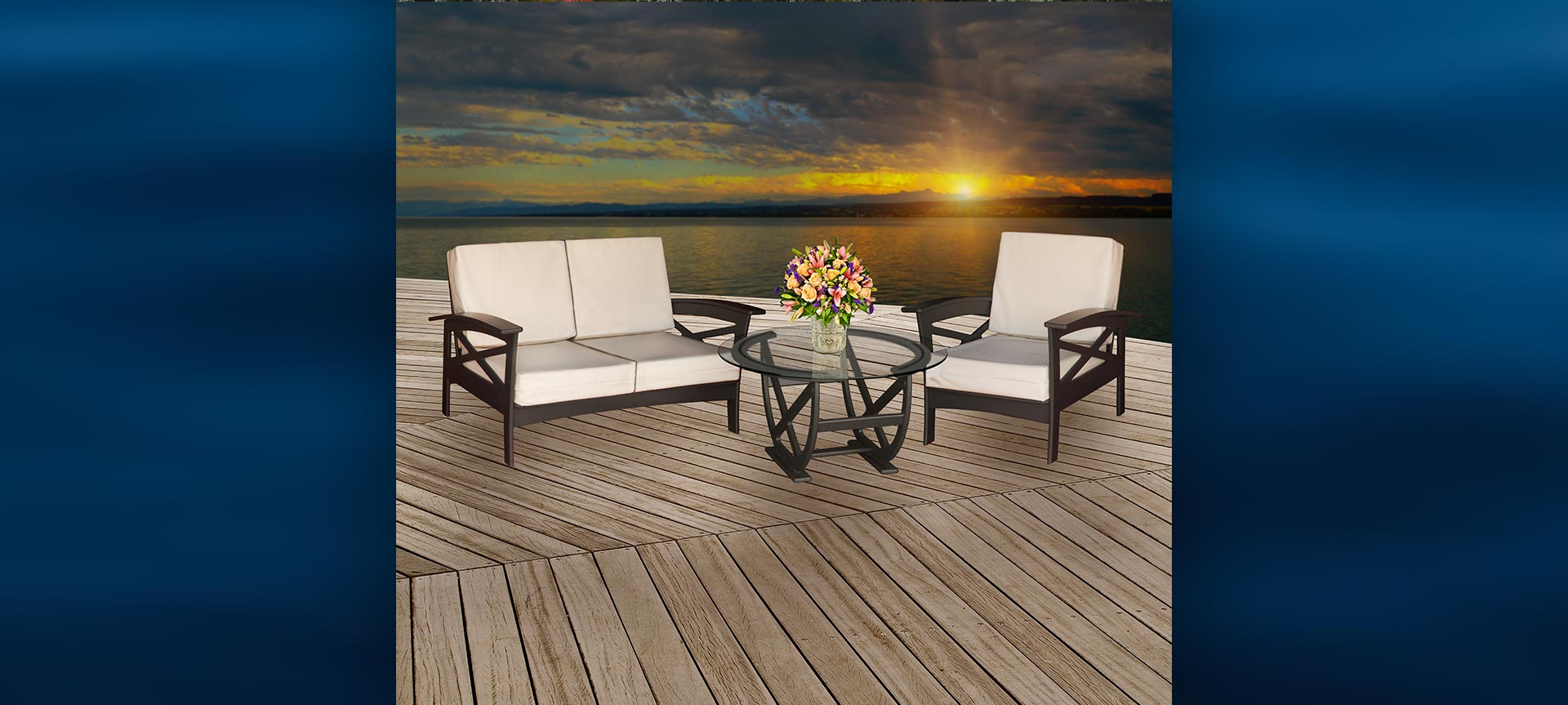 BeaverSprings Deep Seating Outdoor Furniture Collection