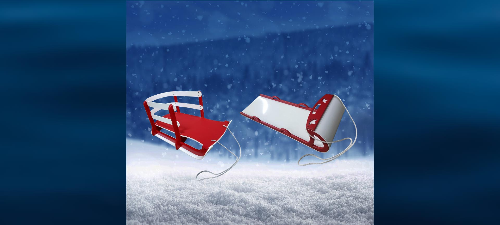 BeaverSprings Winter Sport Sled and Toboggan Collection