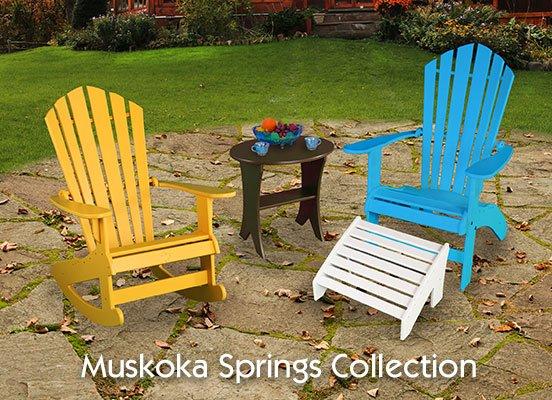 BeaverSprings Outdoor Furniture - Muskoka Furniture Collection