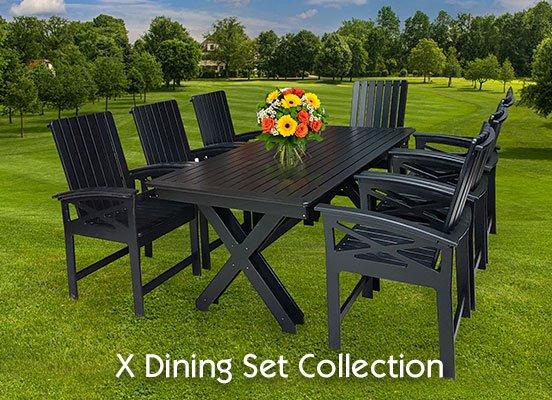 BeaverSprings X Dining Set