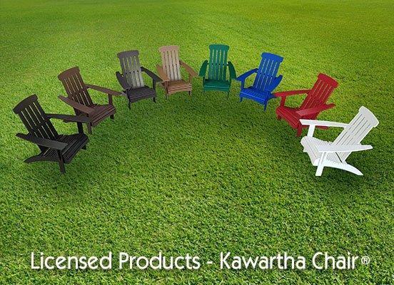 BeaverSprings Outdoor Plastic Furniture - Licensed Products - Kawartha Chair